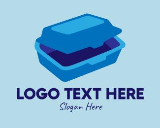 Concessionaire - 3D Food Container  logo design
