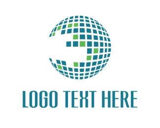 Foundation - Globe Grid logo design