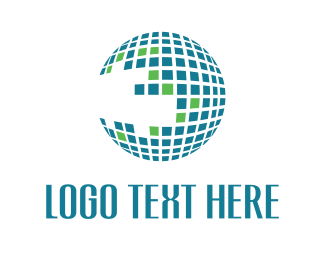 Globe - Globe Grid logo design