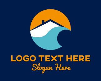 Beach - Beach House logo design