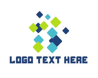 Graphic - Flying Pixels logo design
