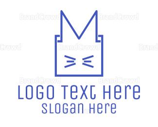 Outlines - Box Animal logo design