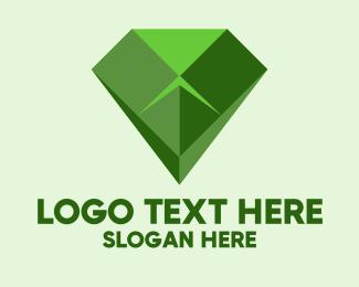 Cobra - Geometric Green Cobra logo design