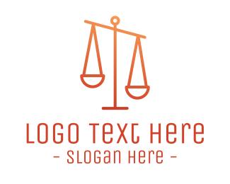 Gradient - Gradient Justice logo design