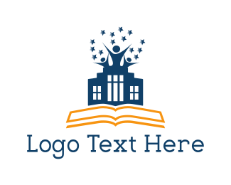 Notebook - Learning Center logo design