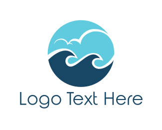 Villa - Ocean Circle logo design
