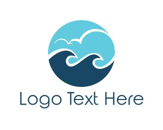 Villa - Ocean Circle logo design