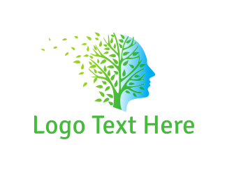 Profile - Profile & Tree logo design