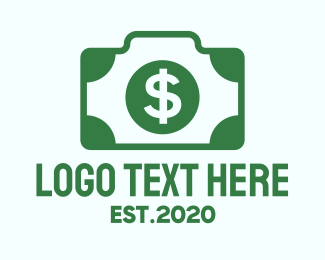 Dollar Bill - Dollar Camera logo design