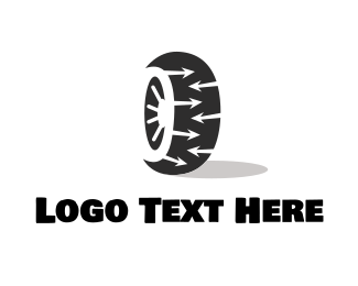 Drive - Tyre Wheel logo design