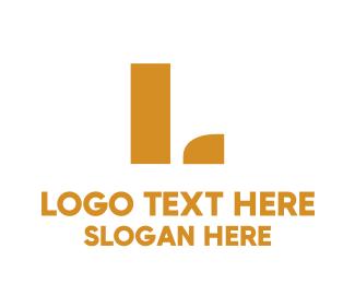 Golden - Golden Lettermark logo design