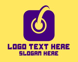 Instagram - Instagram Button logo design