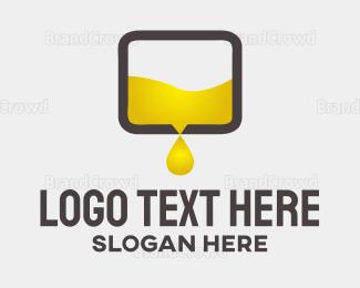 Petroleum - Oil Box logo design