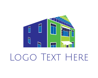 Contractor - Warehouse Building logo design