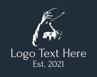 Vector - Fedora Hat Gentleman logo design