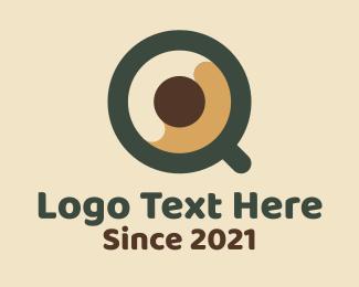 Beverage - Coffee Beverage Letter Q logo design