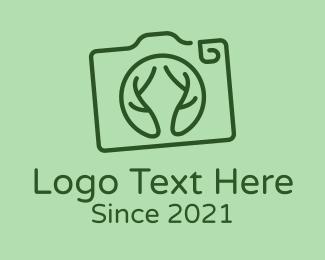 Photography - Camera Lens Branches logo design