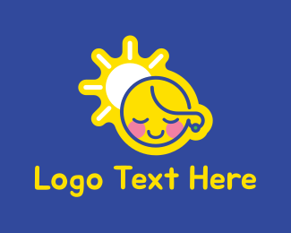 Gender - Cute Girl logo design
