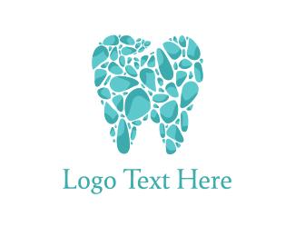 Dental - Tooth Mosaic logo design