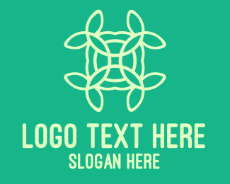 Pattern - Organic Flower Pattern logo design