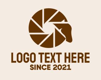 Documentary - Wild Horse Camera logo design