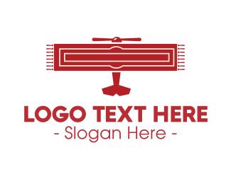 Fly - Flying Rug logo design