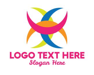 Gay - Colorful Crescent  logo design