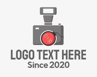 Explosive - Camera Bomb logo design