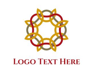 Wedding Photography - Floral Pattern logo design
