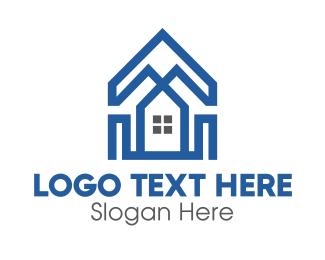 Polygonal - Polygonal House logo design