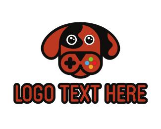 Game Developer - Dog Gaming logo design