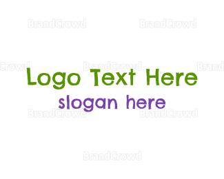 Newborn - Preschool Crayons logo design