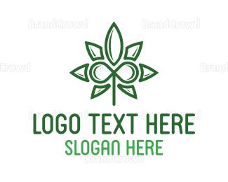 Cbd - Infinity Cannabis logo design