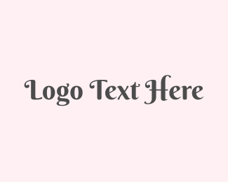 Sophisticated - Pink & Classy logo design