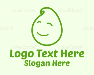 Smiling - Baby Sprout logo design