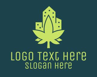 Cannabis - Cannabis City logo design