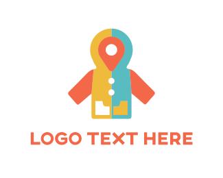 Point - Point Coat logo design