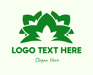 Foliage - Green Leaves logo design
