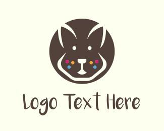 Ear - Brown Bunny logo design