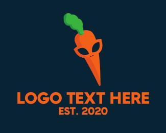 Alien - Carrot Alien logo design