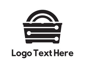 Mirror - Black Furniture logo design