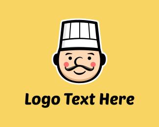 Culinary - Cute Chef logo design
