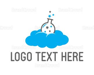 Beaker - Cloud Lab logo design