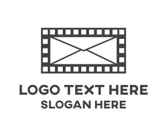Movie - Mail Movie logo design