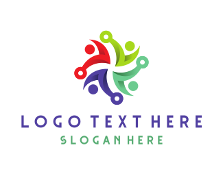 Consultant - People Swirl logo design