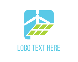 Green Energy - Eco Energy logo design