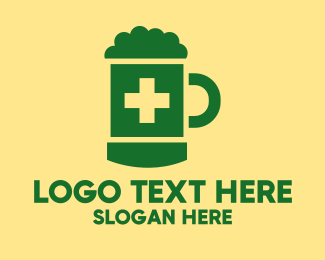 Medicine - Beer Medicine logo design