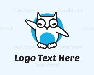 Social - White Owl logo design