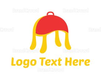 Tray - Pasta Tray logo design