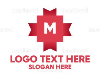 Diy - Gift Ribbon Lettermark logo design